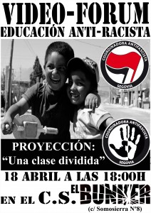 CARTEL VIDEO-FORUM ANTI-RACISTA